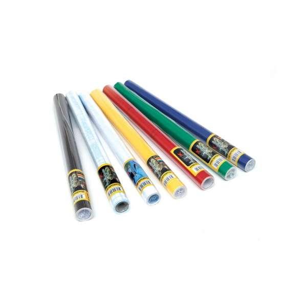 İnox Yapışkanlı Asetat Renkli 45cm x 10mt