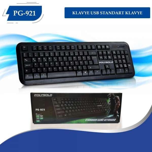 Poly Gold Pg-921 Usb Starndart Klavye