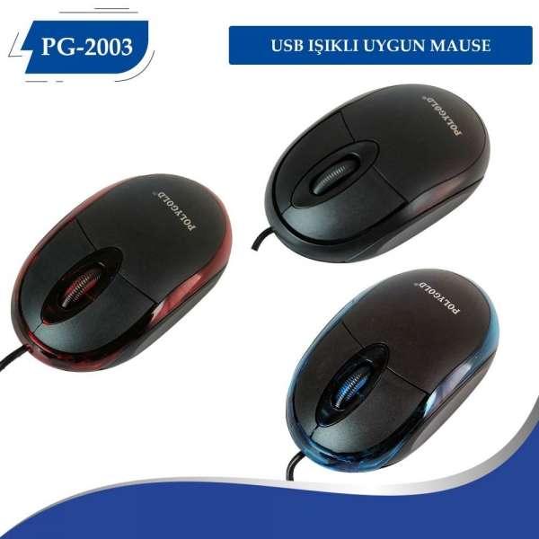 Poly Gold Pg-2003 Mouse Kablolu