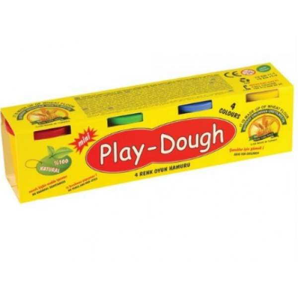 PLAY DOUGH 4'LÜ MİNİ OYUN HAMURU