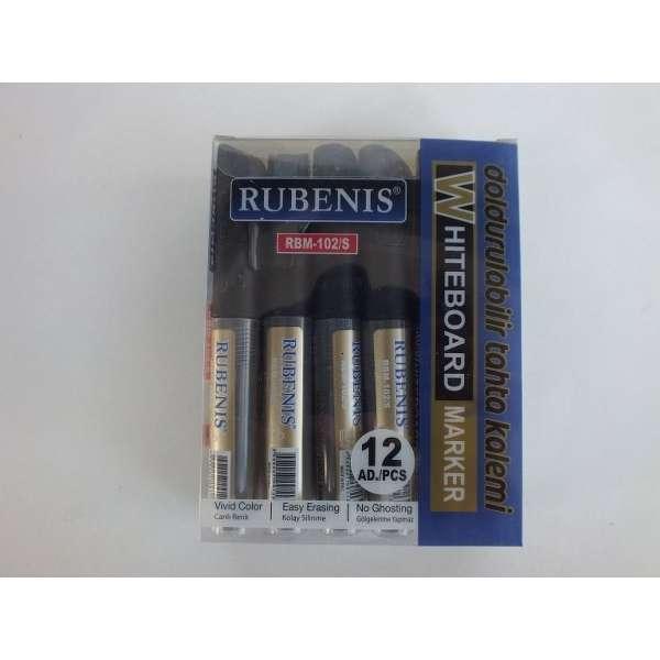 Rubenis Kartuşlu Tahta Kalemi *12 (renk seçiniz)