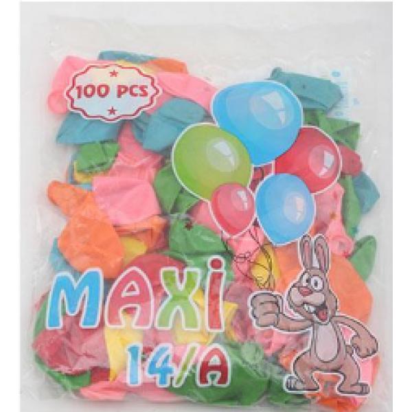 14A BALON 100'LÜ HELIUM# maxi