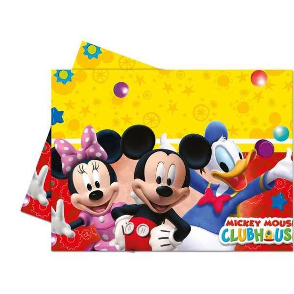 Mickey Plauful Plastik Masa Örtüsü 120x180cm