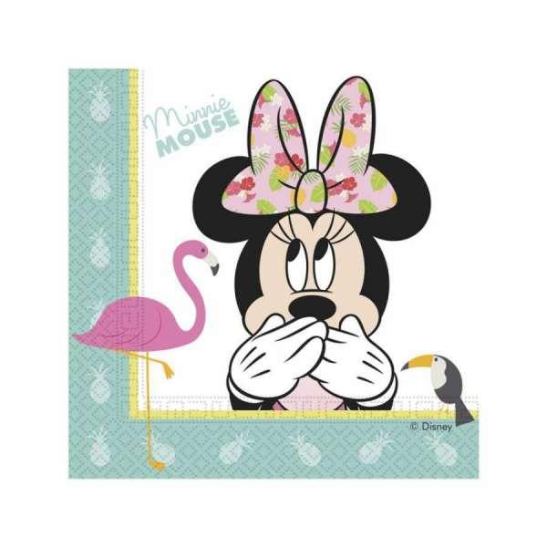 Minnie Mouse Tropical Kağıt Peçete 33x33cm