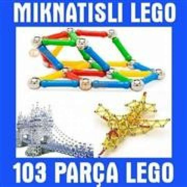 103 parça Manyetik Lego