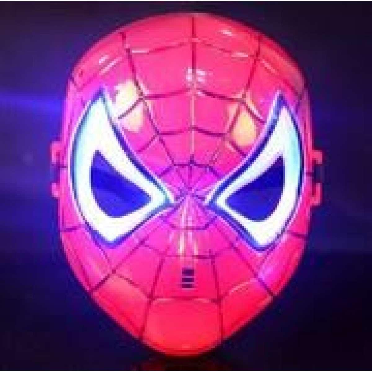 Orumcek Adam Spiderman Maskesi Isikli