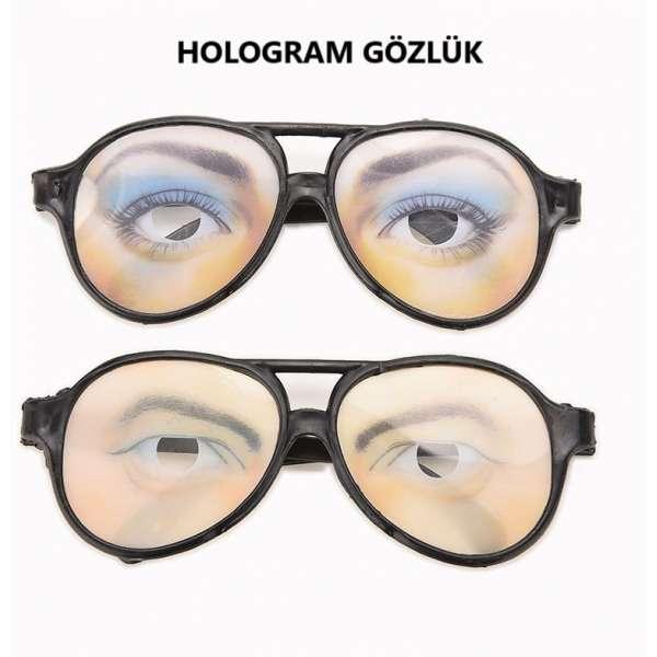 10'LU HOLOGRAM GÖZLÜK