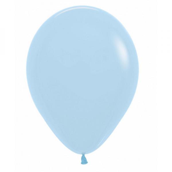 """Yazlık Pastel 12"""" HBK Balon Açık Mavi"""