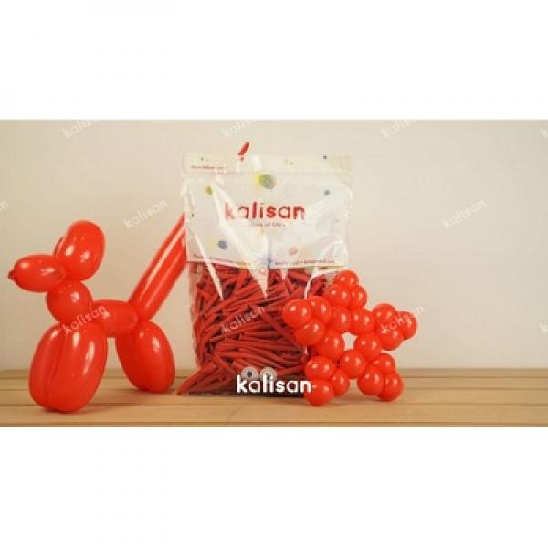 Sosis Balon 260'lık Kalisan Kırmızı