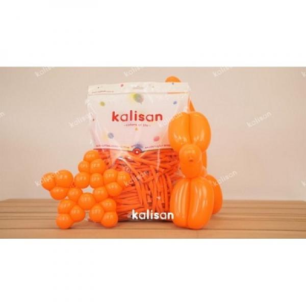 Sosis Balon 260'lık Kalisan Turuncu *100