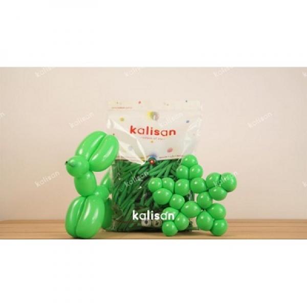 Sosis Balon 260'lık Kalisan Çimen Yeşili *100