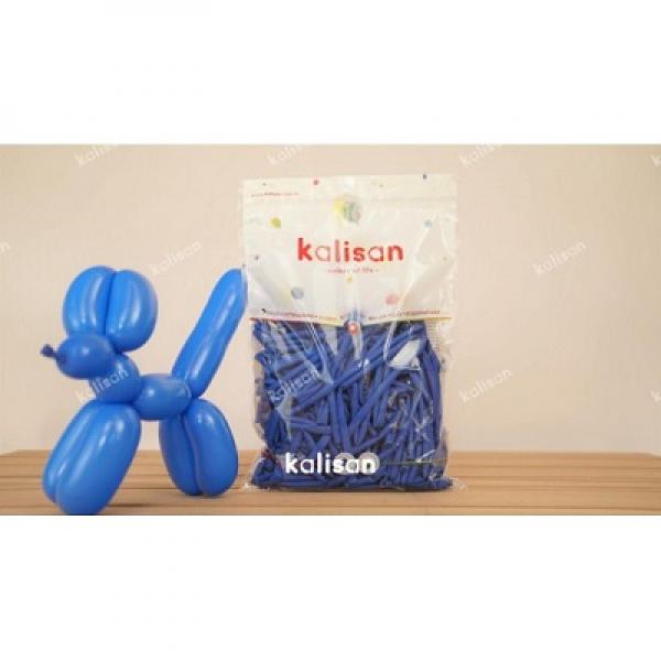 Sosis Balon 260'lık Kalisan Mavi *100