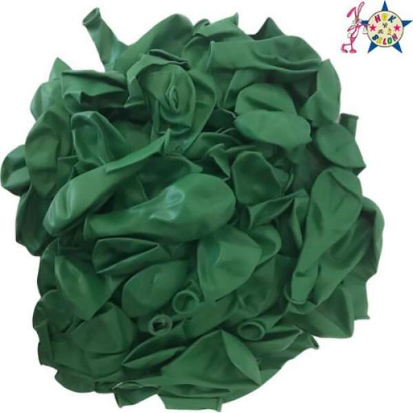 "Pastel Balon 12"" HBK Koyu Yeşil"