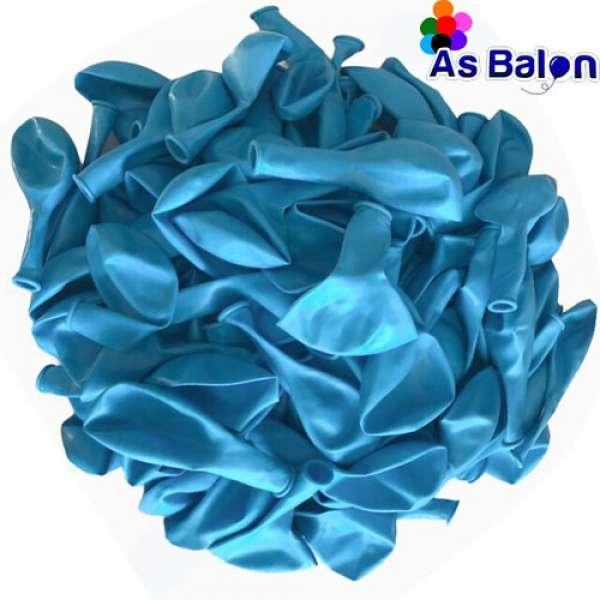 """Pastel Balon 12"""" As Balon Açık Mavi"""