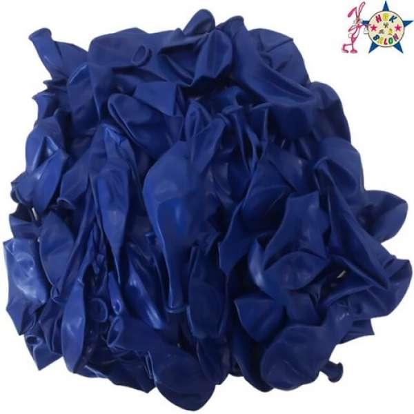 "Pastel Balon 12"" HBK Koyu Mavi"