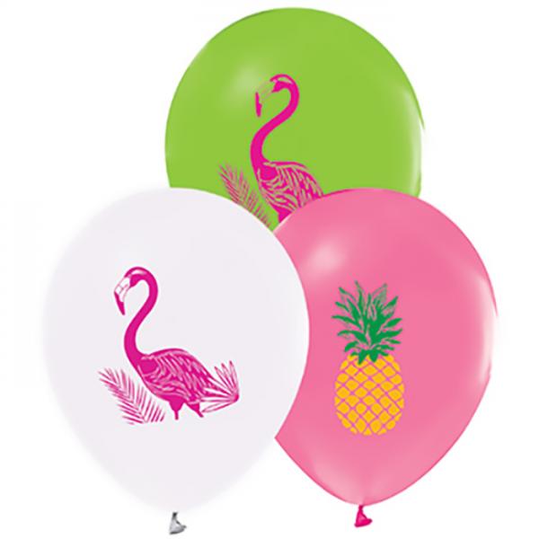 Hazır Baskı Balon Kalisan Flamingo