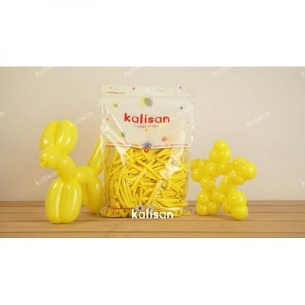 Sosis Balon 260'lık Kalisan Sarı *100