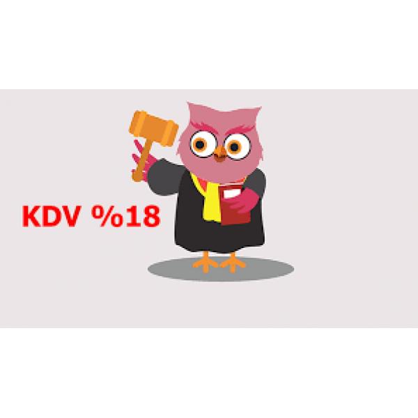 KDV %18