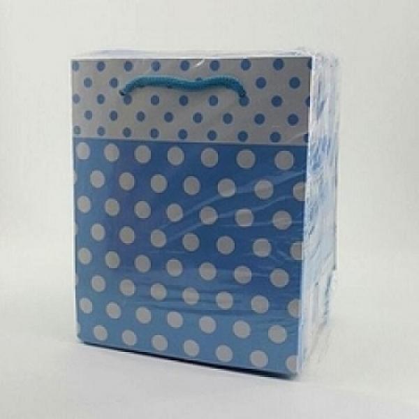 Çanta 14*17 ( 25'li ) Mavi Puanlı