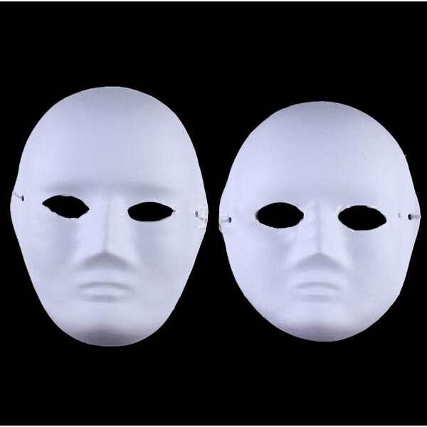 Karton Maske Ithal 1adet Paket