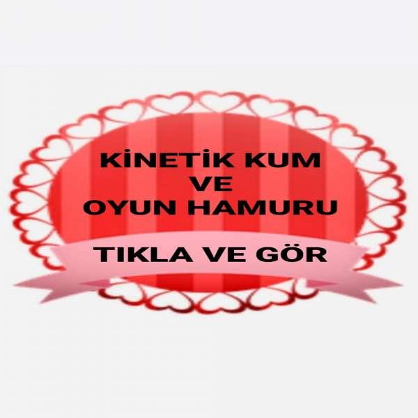 KİNETİK KUM - OYUN HAMURU