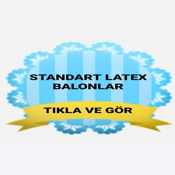 Pastel Balon (Latex)